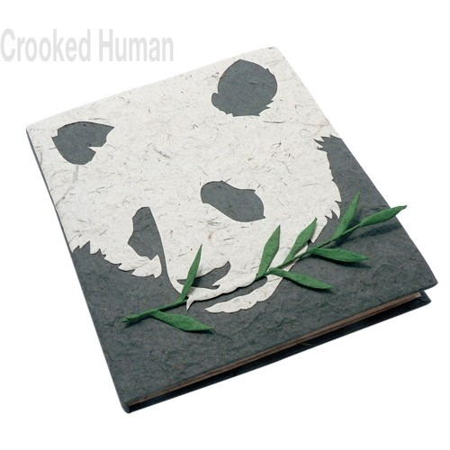 "PooPooPaper™ ""Panda"" Journal"