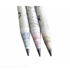 Treesmart™ Newspaper Pencils (Set of 3)